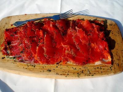 Alaska Salmon Gravlax