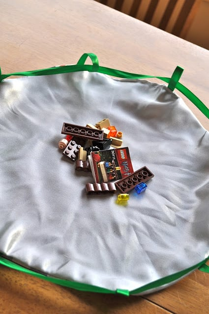Make A Lego Bag Mat Little House Big Alaska