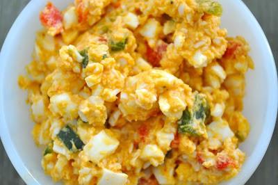 Diablo Egg Salad Recipe