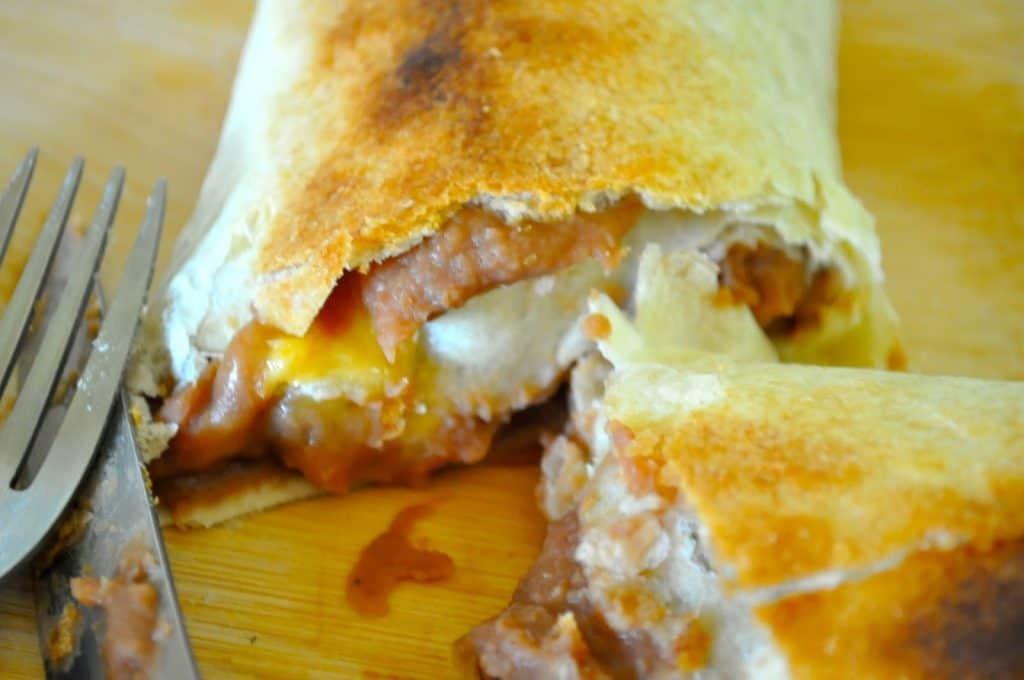 Crispy Baked Burritos