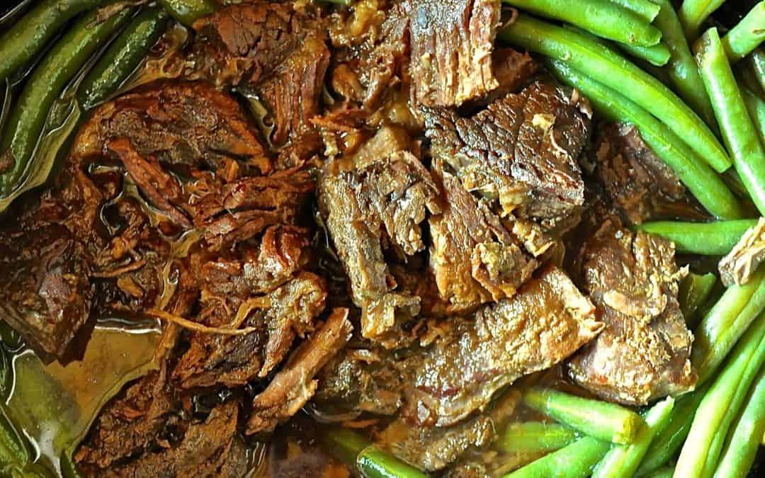 Crock Pot Garlic Ginger Beef Dinner-a Make Ahead Freezer Meal