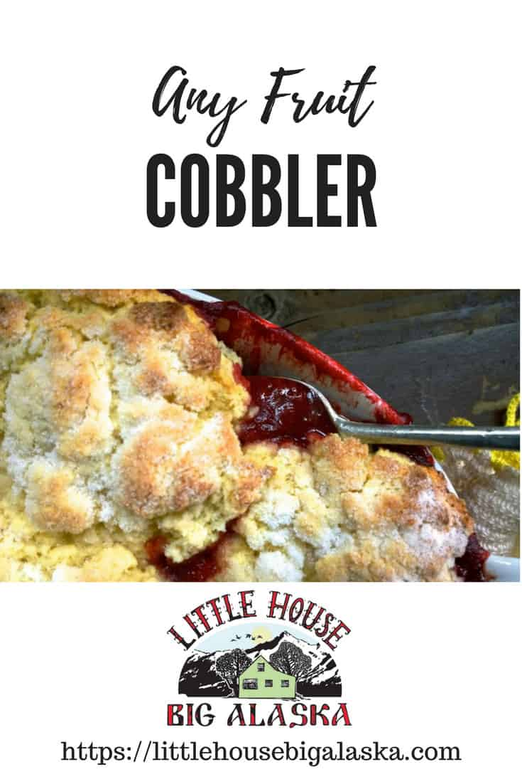 Any Fruit Cobbler