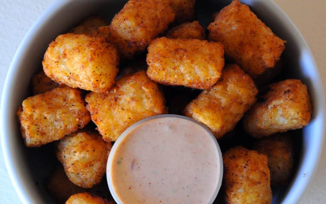 Mexi Tots and Smokey Chipotle Dipping Sauce