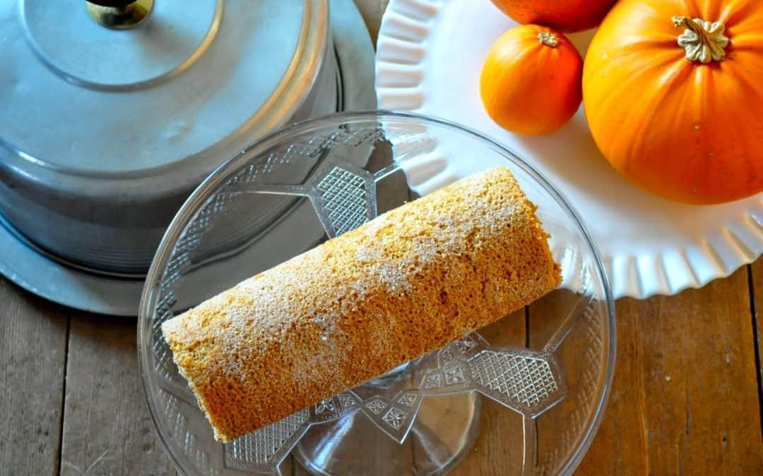 Pumpkin Spice Latte Cake Roll