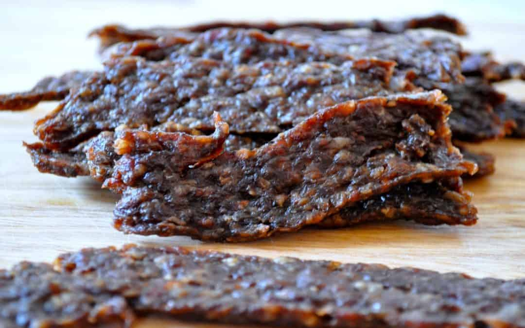 Easy Ground Beef Homemade Jerky, Original Flavor [GIVEAWAY POST–closed]