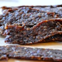 Easy Homemade Ground Beef Jerky Recipe