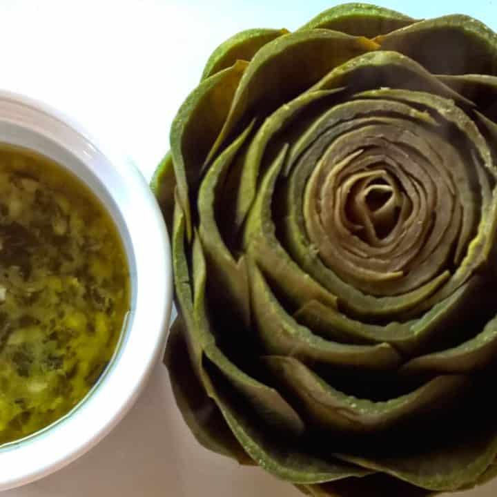 Artichokes with Snail Butter