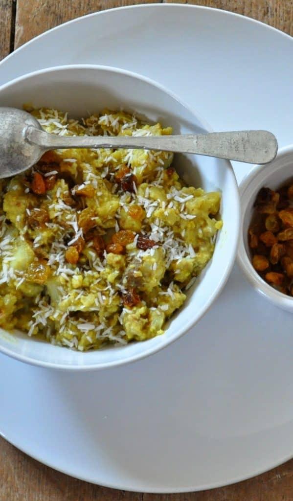 Vegetarian Whole30 Cauliflower Curry