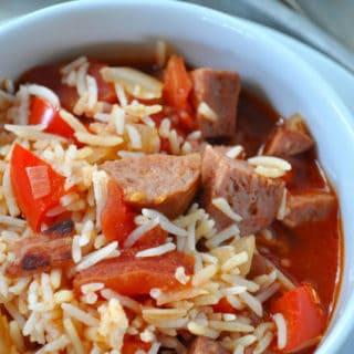 Smoked Sausage Jambalaya