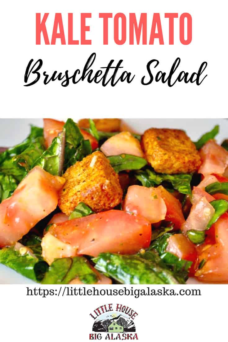 Kale Tomato Bruschetta Salad
