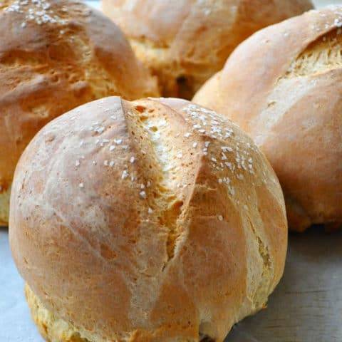 Fresh Bread Bowls in an Hour