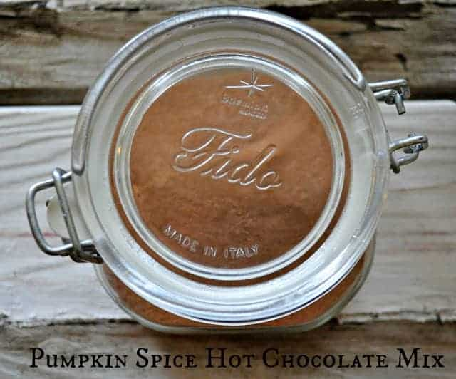 Pumpkin Spice Hot Chocolate Mix for #Choctoberfest