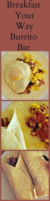 Breakfast Your Way Burrito Bar