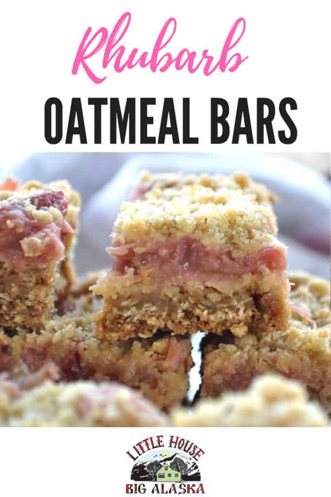 pin for rhubarb oatmeal bars