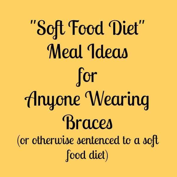 Bland Soft Food Diet Recipe