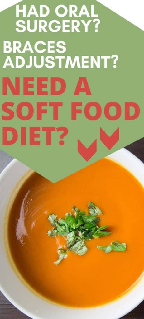 soft food diet meal ideas