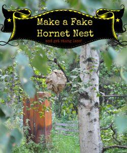 Fake Hornet Nest