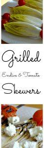Grilled EndiveTomato Skewers