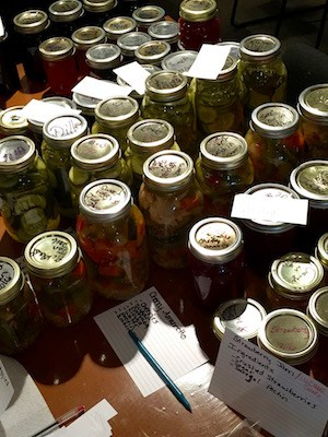 Canned Goods at Food Swap