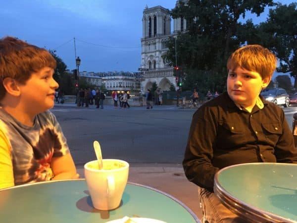 Parisian Cafe Life
