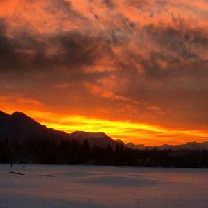 sunrise in AK