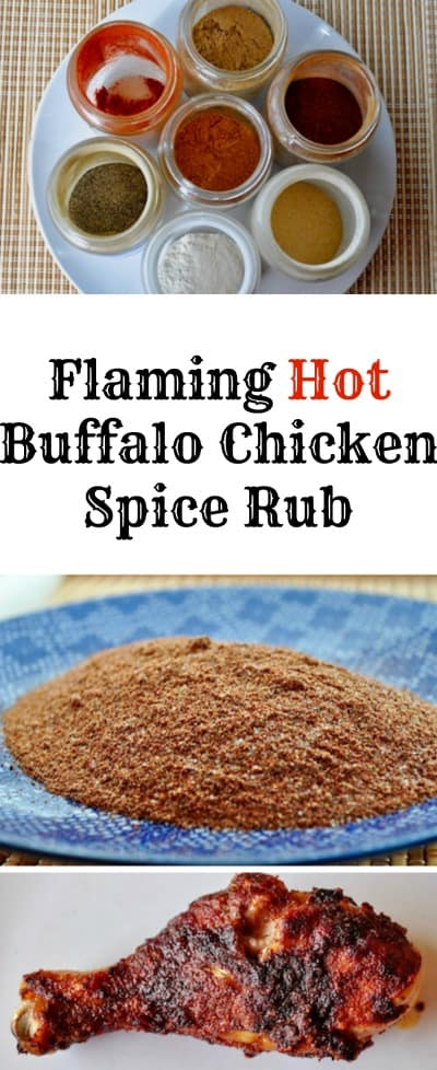 Flaming Hot Buffalo Chicken Spice Rub