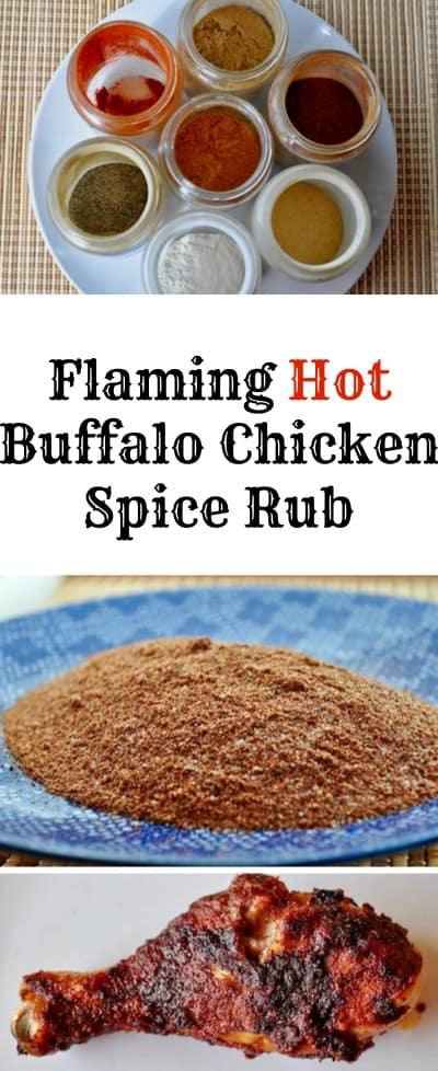 Flaming Hot Buffalo Chicken Spice Rub