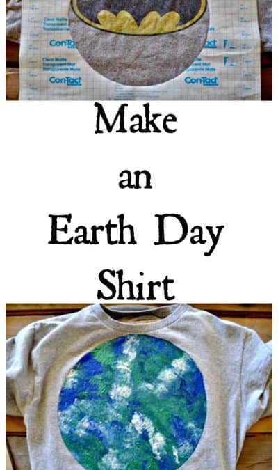 Make an Earth Day Shirt from Recycled Products