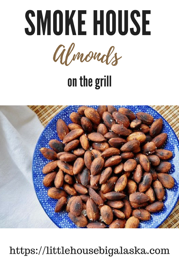 Smoke House Almonds on the Grill