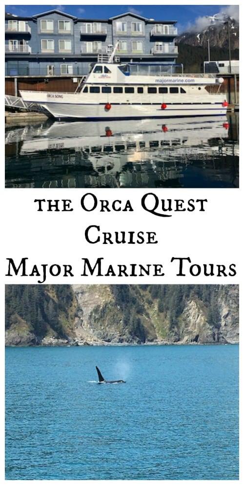 Orca Quest Cruise Seward Alaska