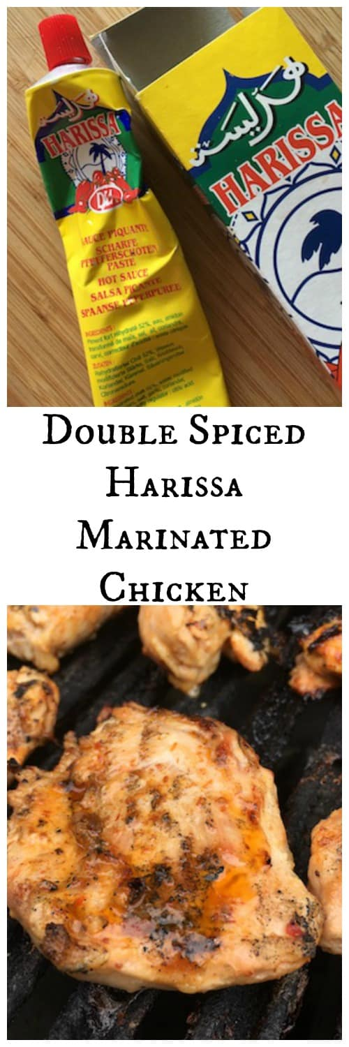 Double Spiced Harissa Marinated Chicken