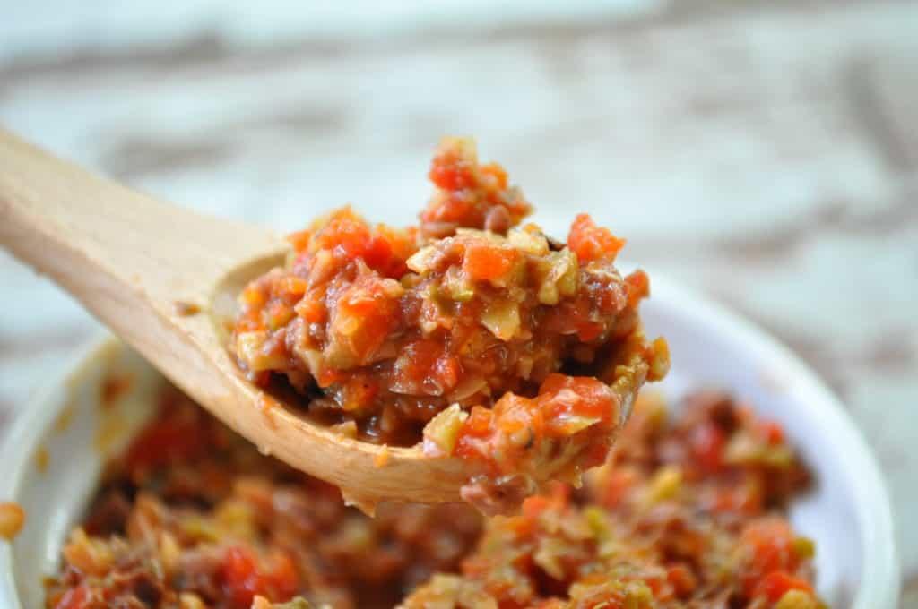 Red Pepper Tapenade Recipe