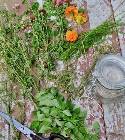 How to Make Your Own Smudge Sticks from homegrown plants