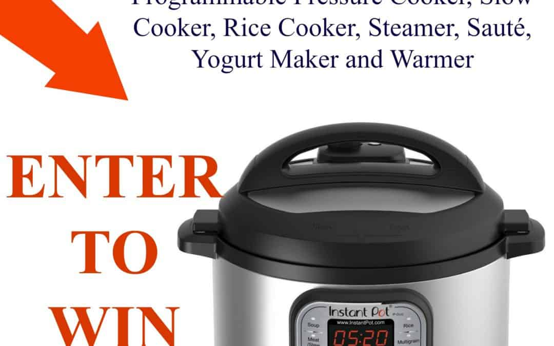 Enter to Win an Instant Pot Duo60 6 quart 7/1 Pressure Cooker