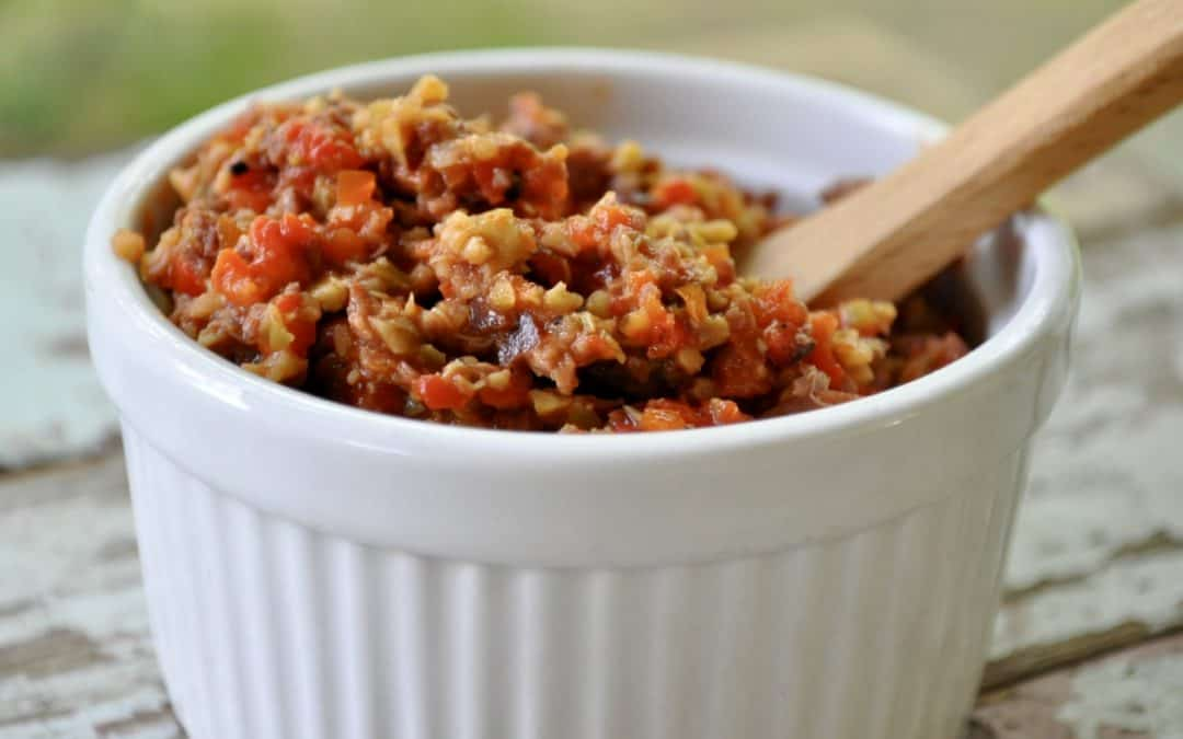 Red Pepper Tapenade Recipe