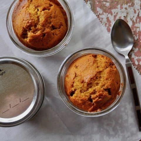 Pumpkin Cake Jars