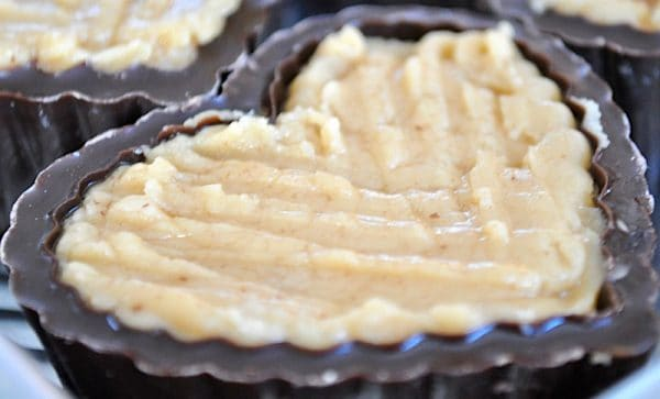 featured image for Chocolate Heart Boxes with Peanut Butter Filling
