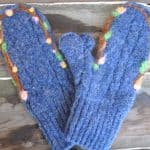 Make Wool Mittens from an Old Wool Sweater