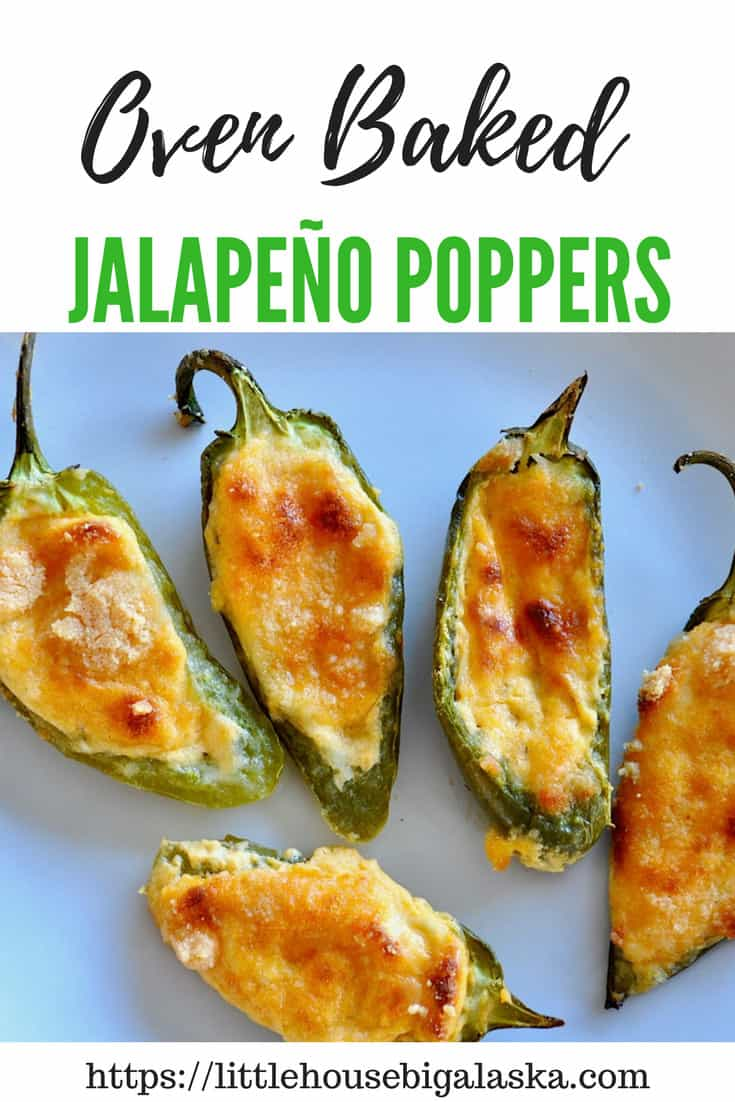 Oven Baked Jalapeño Poppers