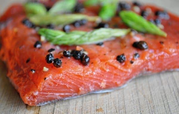 Spruce Tips Gravlax Recipe