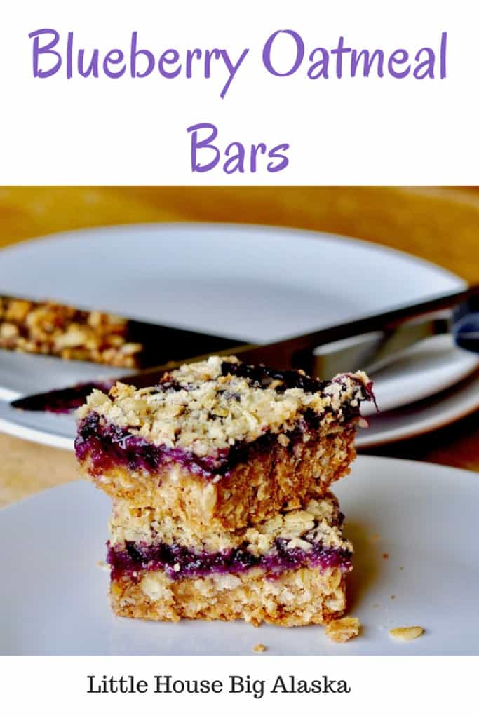 pin for Blueberry Oatmeal Bars