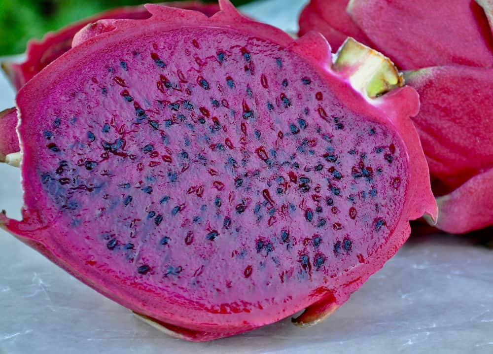 Vegan Dragon Fruit Popsicles