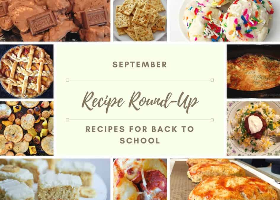 September Recipe Round-Up and Giveaway