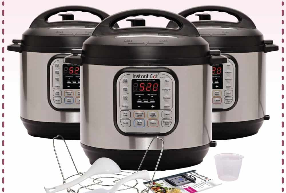 Instant Pot Duo Giveaway X3