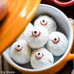 HalloweenDoughnut Hole Eyeballs