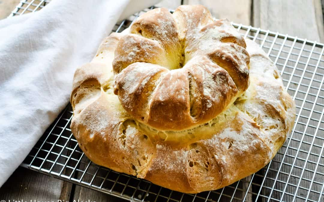 Paul Hollywood's Cottage Loaf with American Measurements