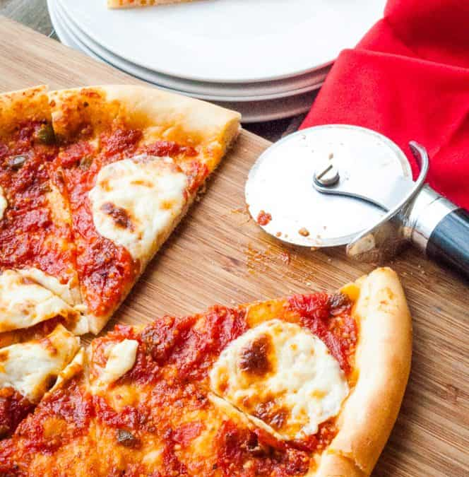 Pizza Margherita with American Measurements