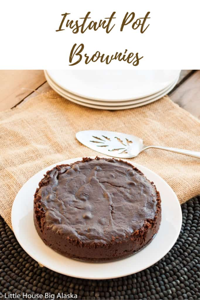 pin for instant pot brownies