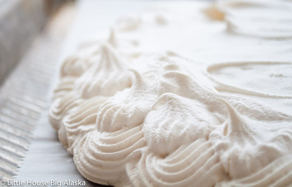 Vegan Meringue Peak
