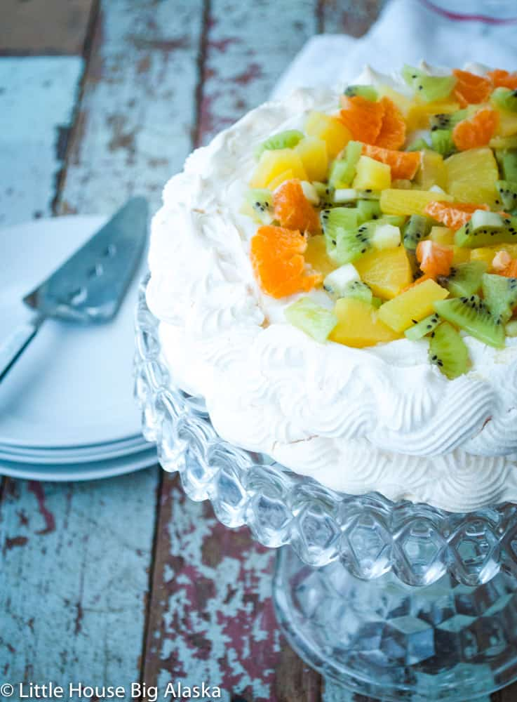 vegan pavlova for your dessert pleasure